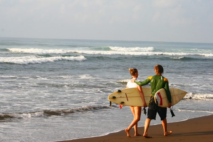 Surf  and Volcanoes